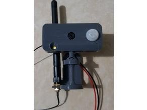 Camera mount 360° Arduino ESP32-Cam with PIR sensor V3