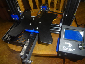 Ender 3 Y axis linear rail conversion (no drilling required) V2 now here