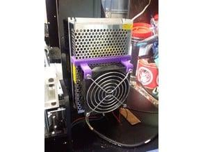 Anet A8 Power Supply fast fan bracket