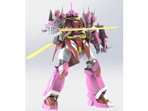 1/144 MS-08TX/S Efreet Schneid (UC version) [Gundam Model] --- Completed version