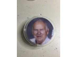 Christmas ornament (photo) and fridge magnet