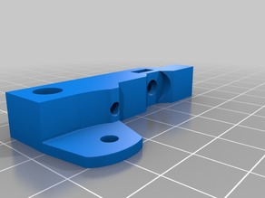 Creality semi-stock extruder arm with adjustable tension