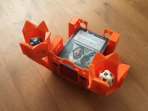 MTG - Library Holder for the KING (Game of Thrones MTG)