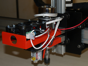 Update 12-19/2015 J-tech Shapeoko 2 laser mount