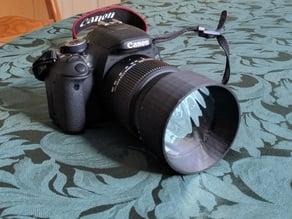 Camera Solar Film Filter Holder
