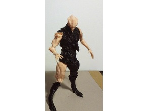 Warframe Nidus Action Figure