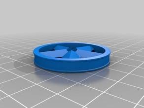 1.5 inch (38.1 mm) Fidget Spinner Ear Gauges