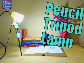 Pencil Tripod LED Lamp