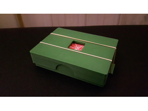 Card Deck Case with press