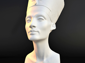 Nefertiti - Real 3D SCAN (By Nora Al-Badri and Jan Nikolai Nelles)