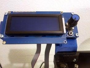 Prusa i3 G3D LCD mount