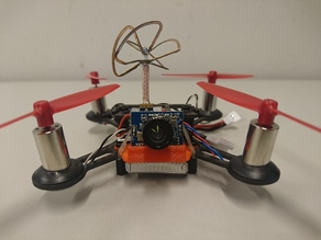 Eachine QX90 tilted camera support - Front mounted (10°, 20°)