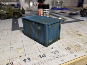 1/35 10ft Container Crate