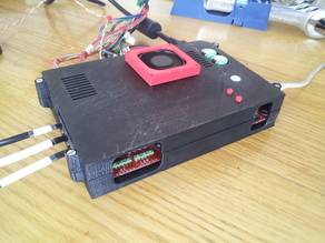 R2C2 Electronics box with fan