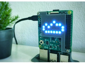 RPi SenseHat LED diffuser