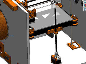 z axis with one stepper and trapezoidale rod