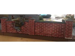 Brick wall - 28mm