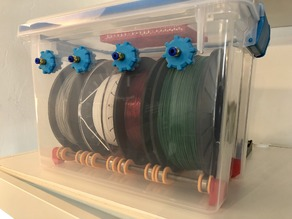 The Ultimate Spool Holder Dry Box