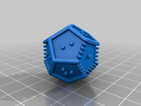 Braille Polyhedral Dice - March 2018 version