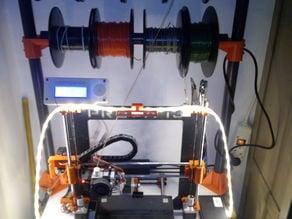 32mm PVC spooler support corners