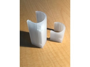 1 inch PVC clips