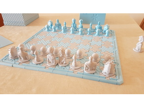 Frozen chess