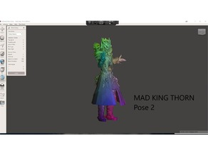 GW2 Mad King Thorn 2 poses