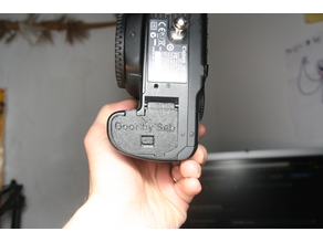 Canon 40D and 50D battery door