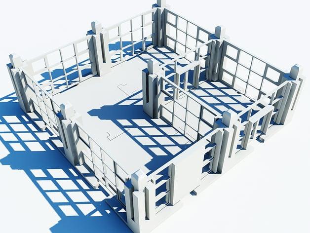 Jigsaw Constructor - Thingiverse ArchitectureKIT