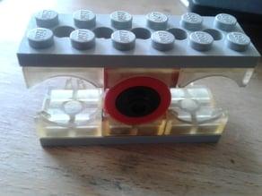 Lego micro motor brackets