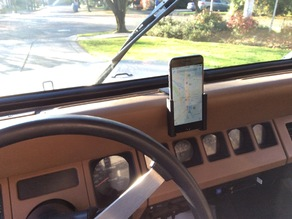 iPhone 6 mount for Jeep Wrangler YJ