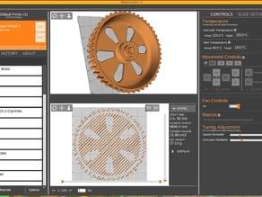 Spektrum DX r/s Enlarged Steering Wheel