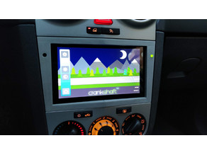 Opel Vauxhall Corsa 2012 Raspberry Pi support