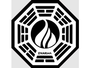 DHARMA Station 3d logo
