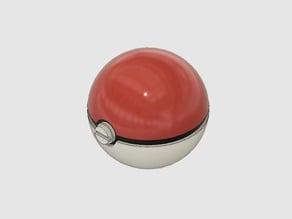 Pokemon ball SDcard holder