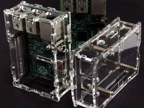 RASPBERRYPI-2-MODB-1GB acrylic laser cut case