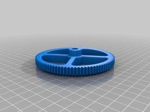 Improved gears for 60ml Syringe Extruder - LDM