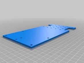 CNC C-beam side plate