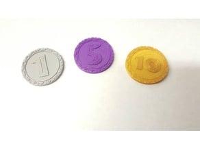 Dinosaur Island Coins