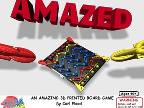 AMAZED an Amazing 3D Printed Board Game
