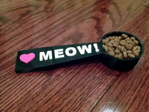♥ MEOW! Kitty Food Scoop