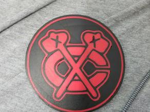 Blackhawks Coaster (Dual Extrusion)
