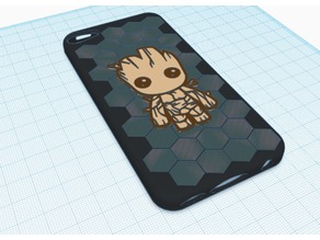 Baby Groot iPod Touch case