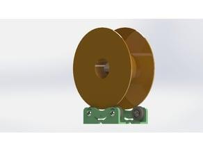 Spool holder filament