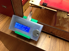 LCD Holder for Series 1 Printer