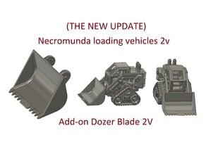 Dozer blade 2V