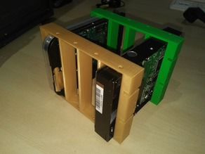 """4x 3,5"""" to 3x 5,25"""" Adapter"""
