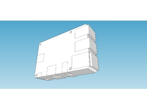 Basic Raspberry Pi-3 boxed dimensions