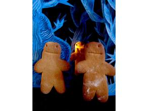 Gingerbread Zombie Cookie Cutters