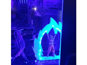 Graphics Card Stand Saiyan Power Up